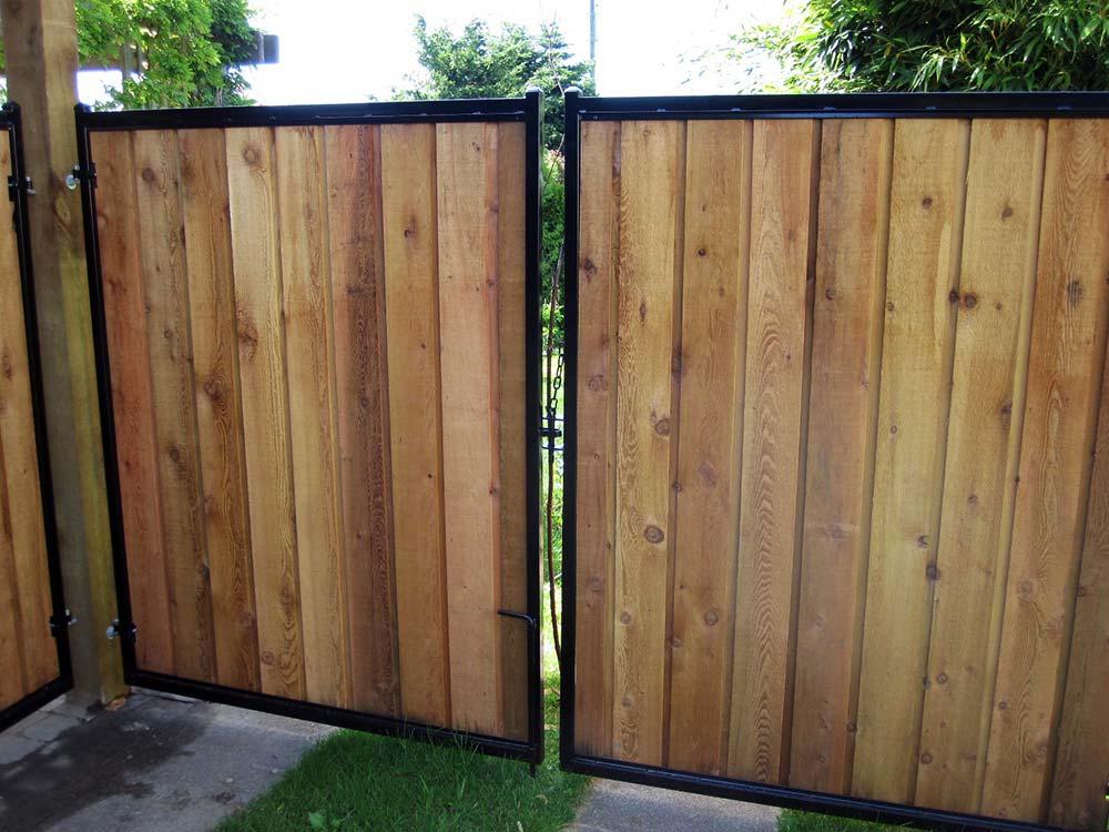 Metal Frames For Wood Fence Gate
